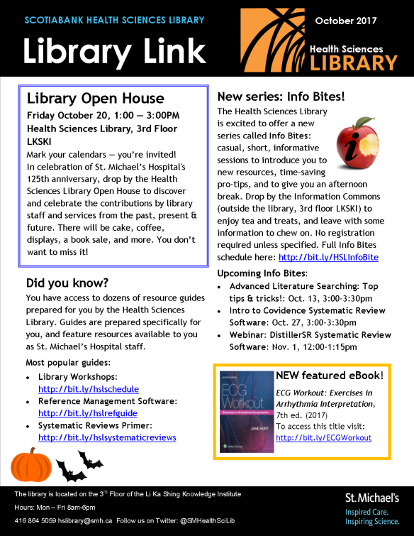 October 2017 Library Link