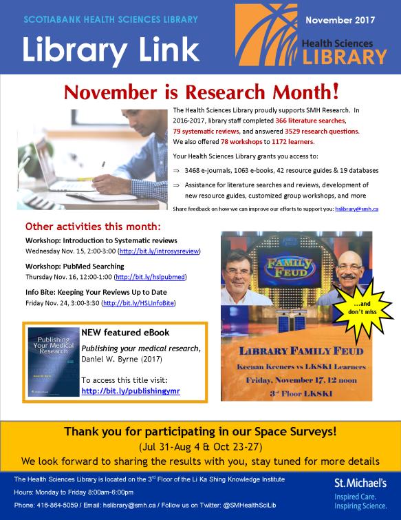 November 2017 Library Link