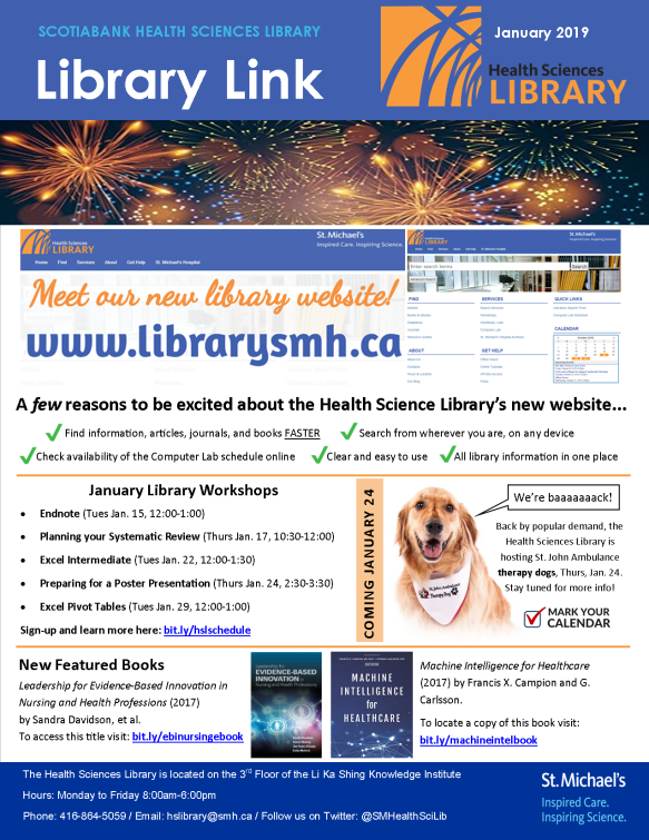 January 2019 Library Link
