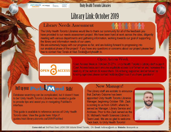 Library Link october 2019