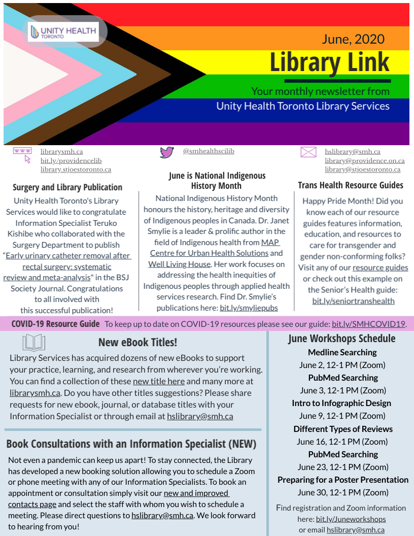 Library Link June Newsletter